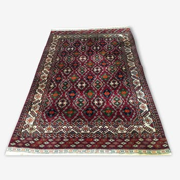 Superb oriental rug: old Bukhara 250 x 160 cm