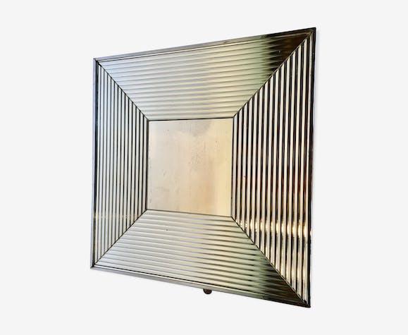 Miroir carré argenté 62x62cm