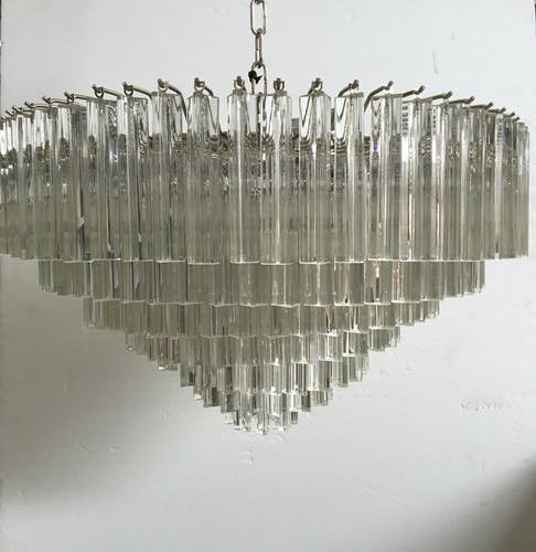 Spriednik Triedo lamp in Murano glass
