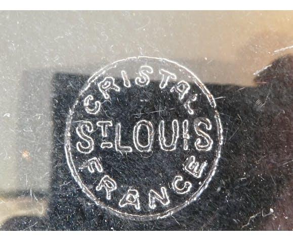 Coupe saladier Saint- Louis en cristal taillé