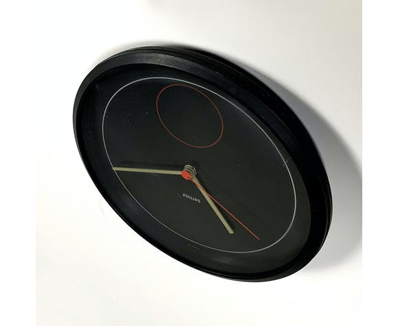 Horloge Philips style géométrique 1980