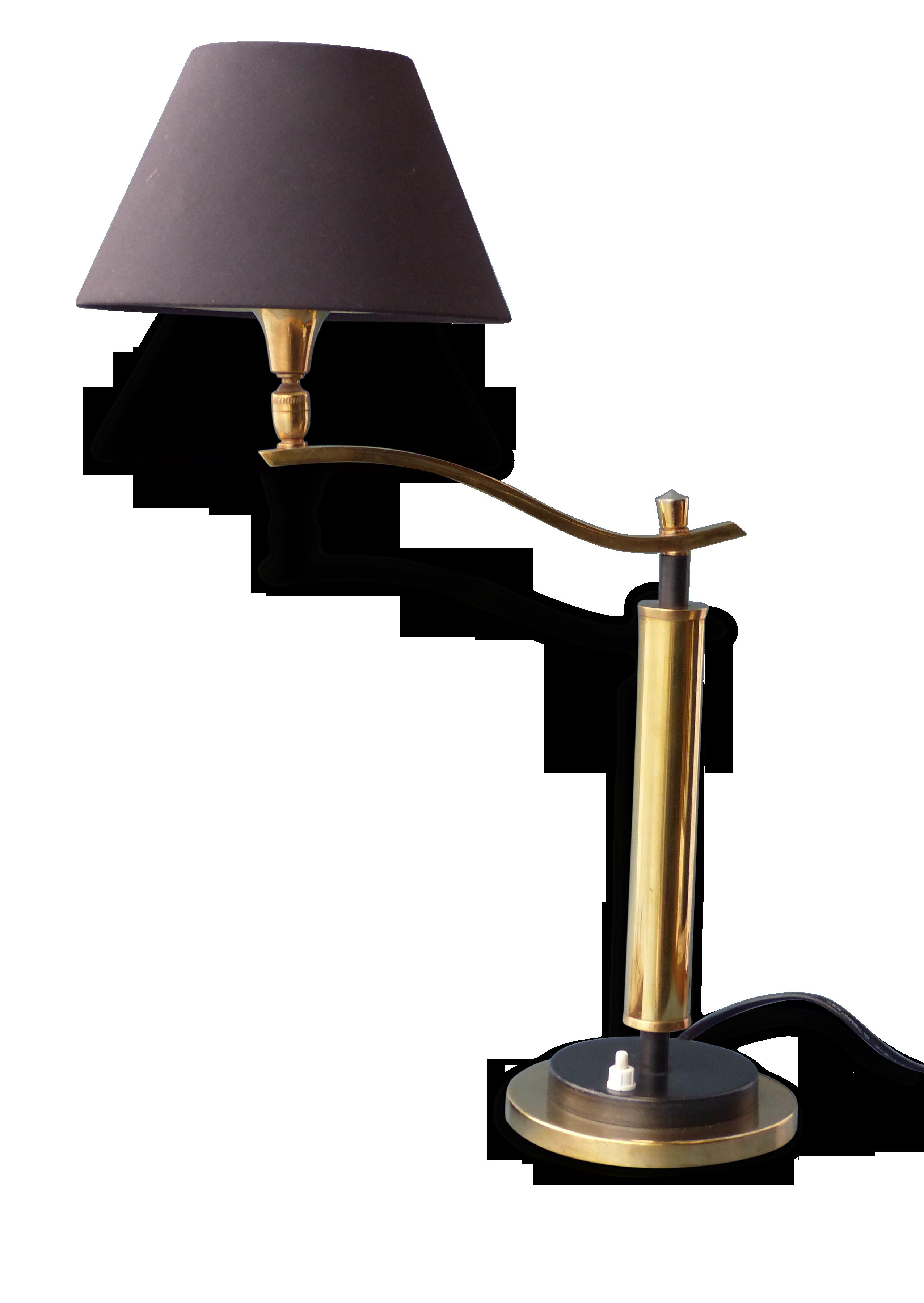 Lampe de bureau laiton vintage laiton vintage