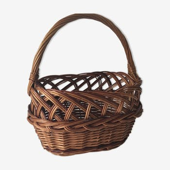 Vintage hand basket for children