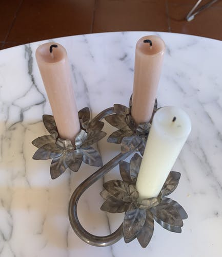 Flowers candlestick - Center table