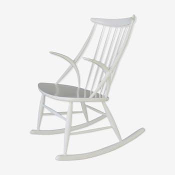 Rocking-chair danois par Illum Wikkelsø