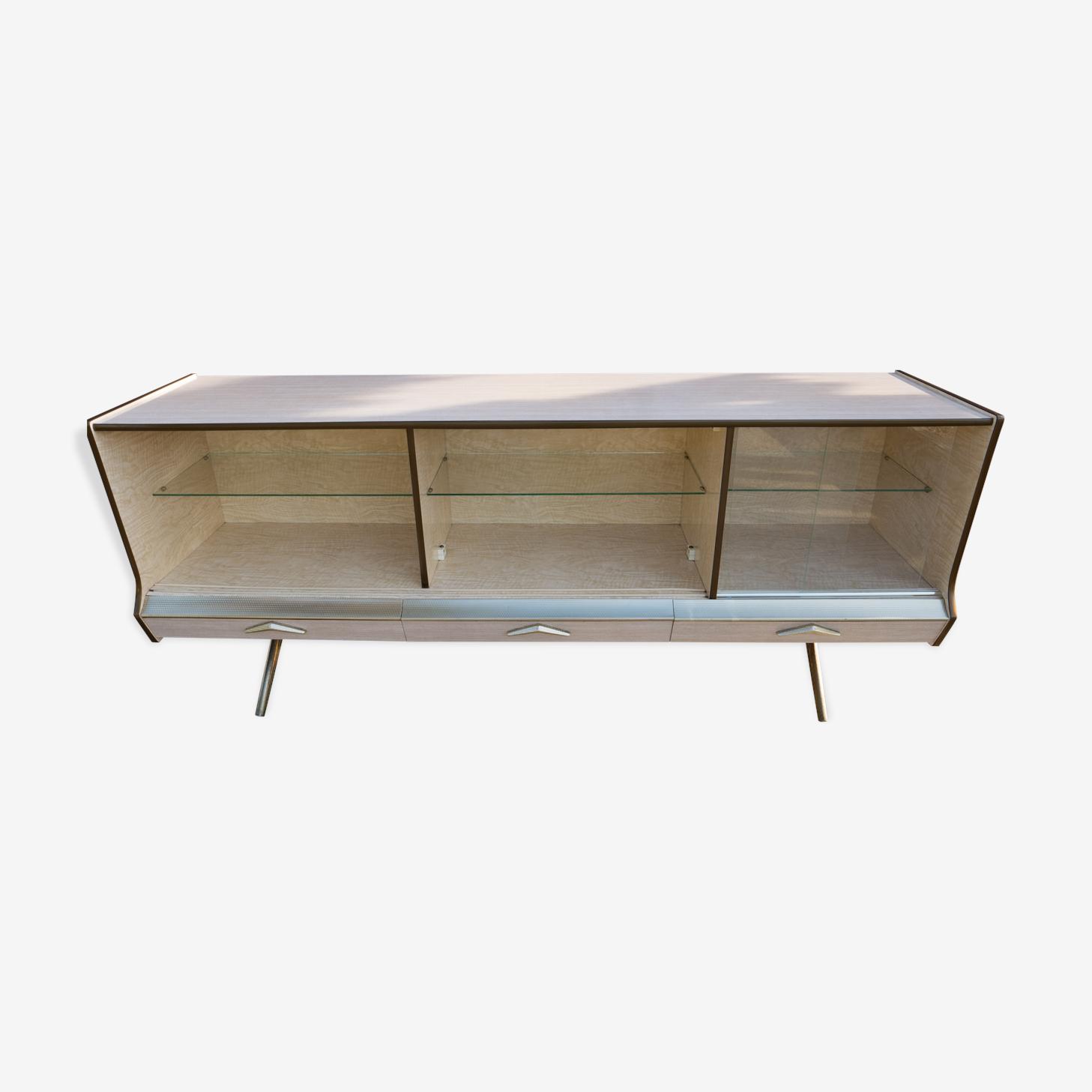 Sideboard in formica, open