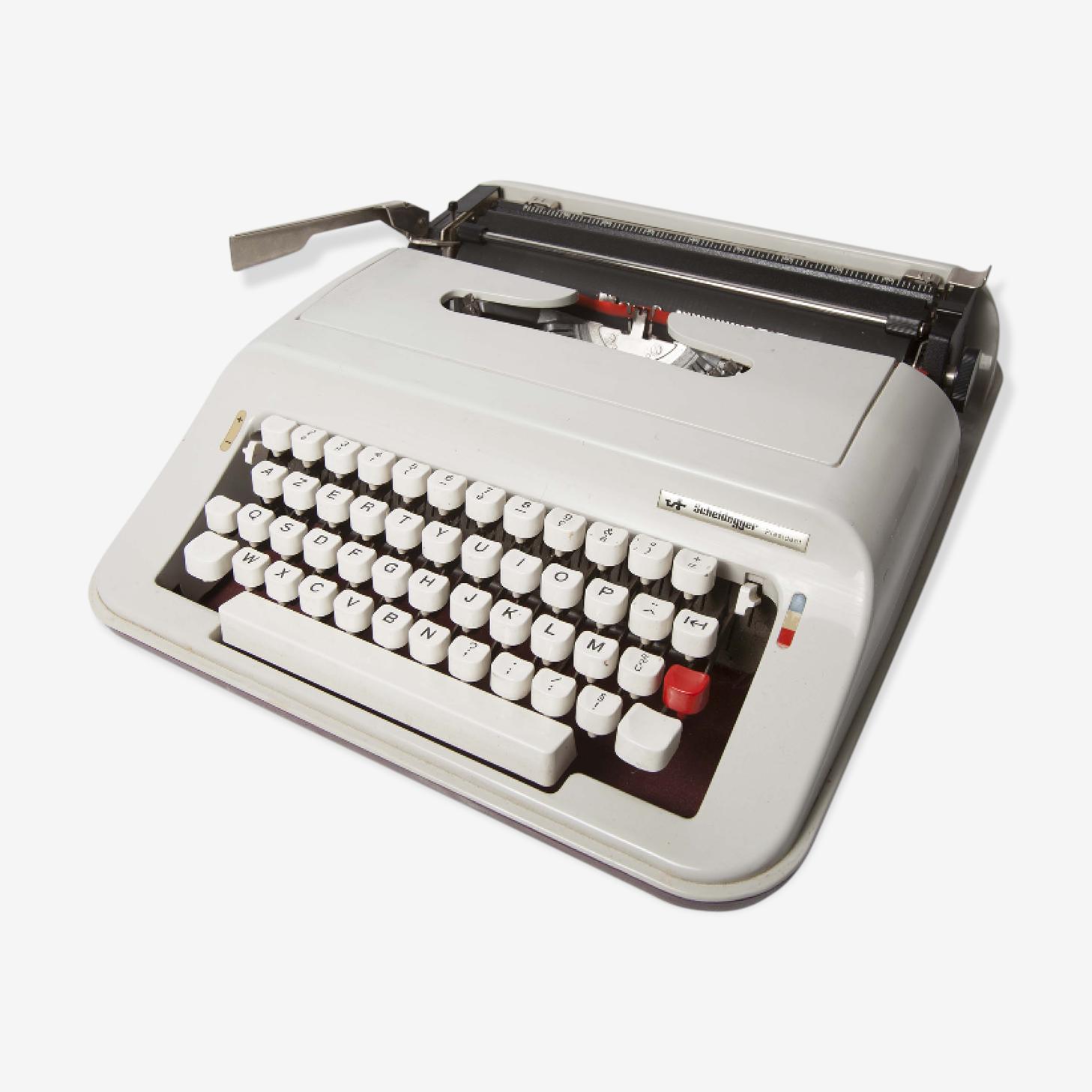 Machine à écrire Sheidegger Président par Olivetti