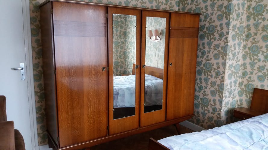 Wooden cabinet, 60s