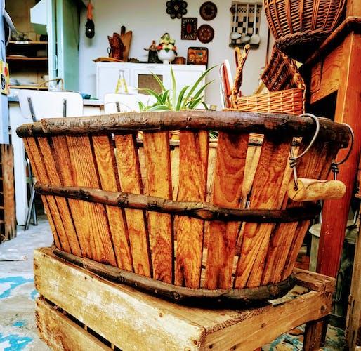 Comporte en bois ancienne