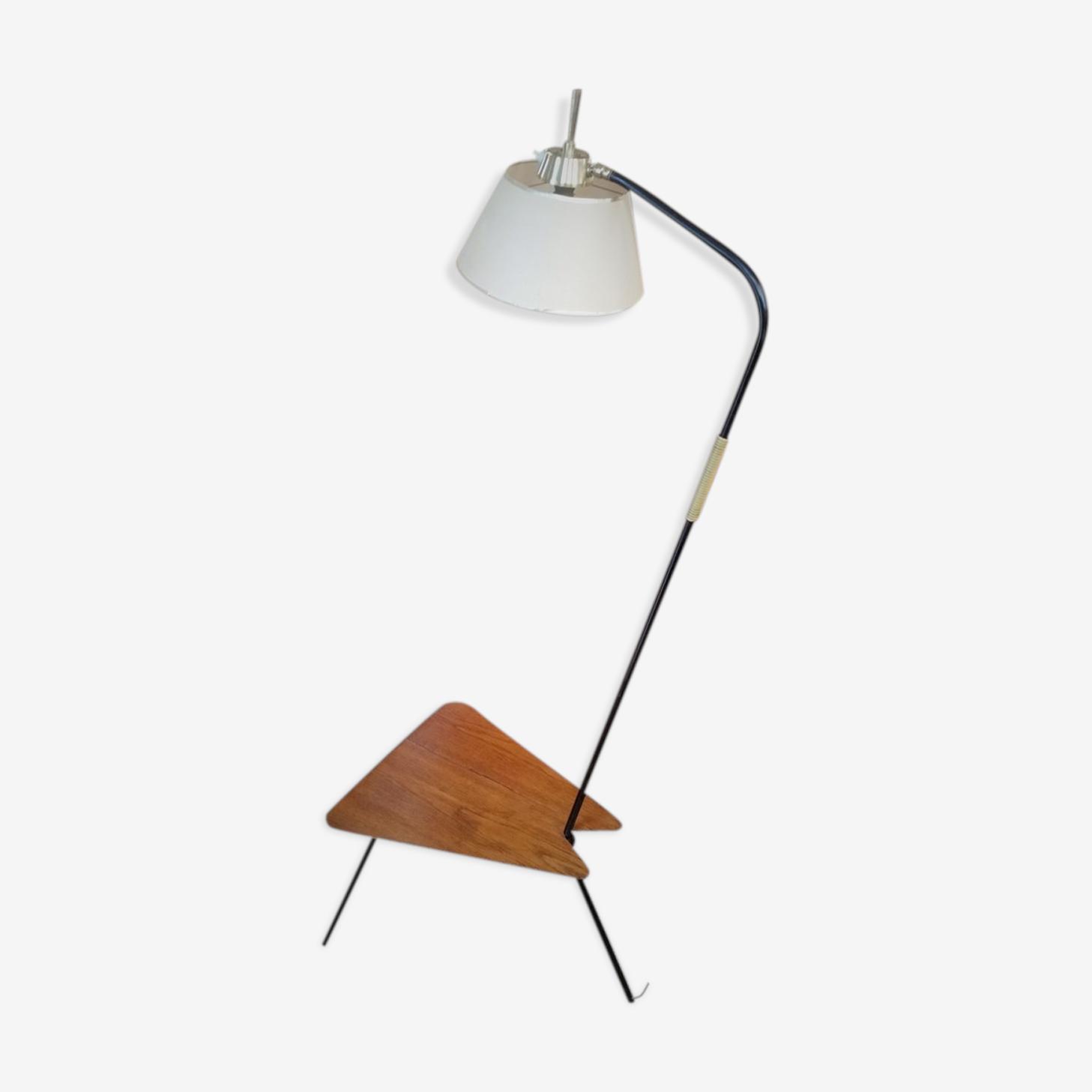 Floor lamp tripod vintage 50s