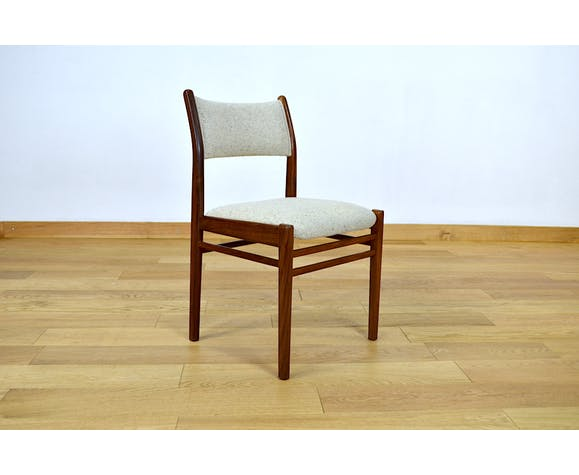 Lot de 4 chaises design scandinave Edition Asko 1960
