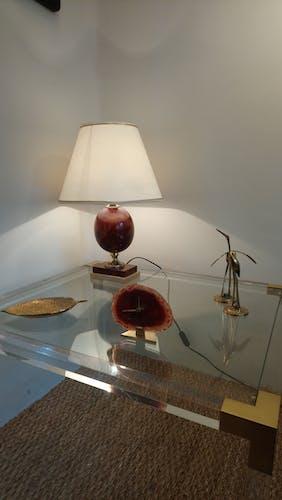 Lampe de table néoclassique années 70