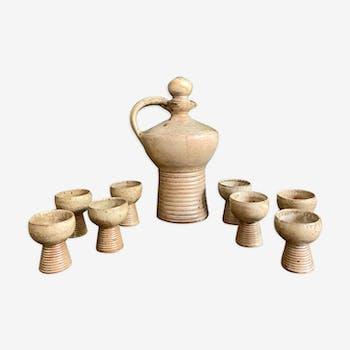 Pierre Pigaglio ceramic set