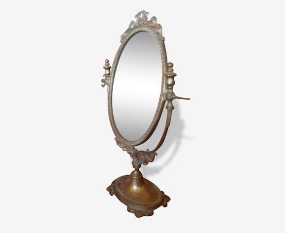 Miroir sur pied ancien \
