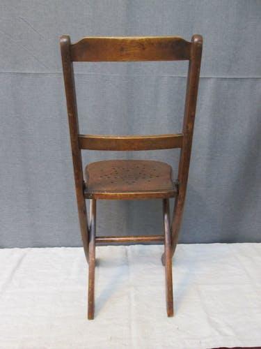 Chaise d'enfant pliante