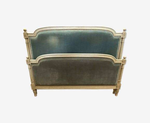 Louis XVI style bed in lacquered wood, 20th