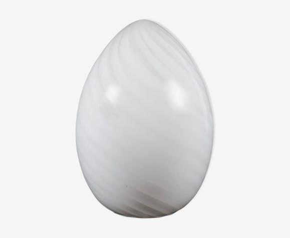 """Lampe oeuf  """"Spirale lamp egg"""" hauteur 50 cm vintage 1970"""