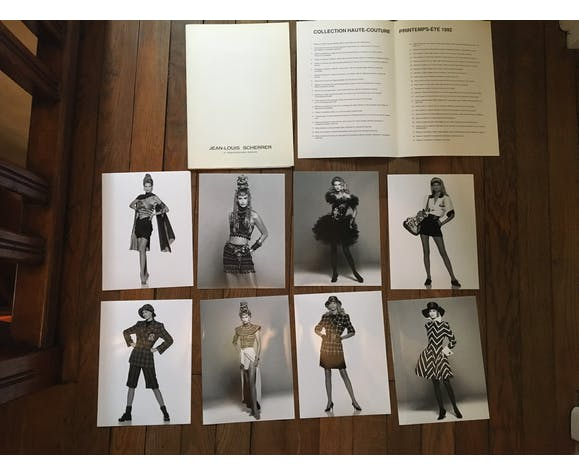 Jean-Louis Scherrer : illustration de mode et photographie vintage de presse début des années 80