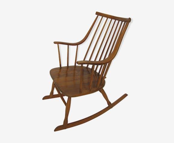 Rocking chair scandinave des années 70