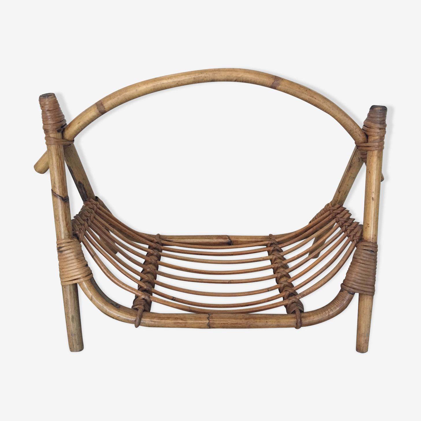 Porte revues bambou 1960