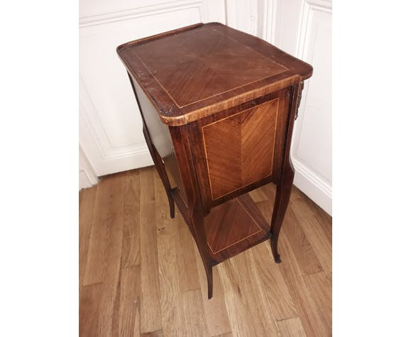 Bedside style Louis xv marquetry