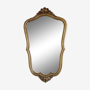 Louis XV-style baroque mirror 40x69cm