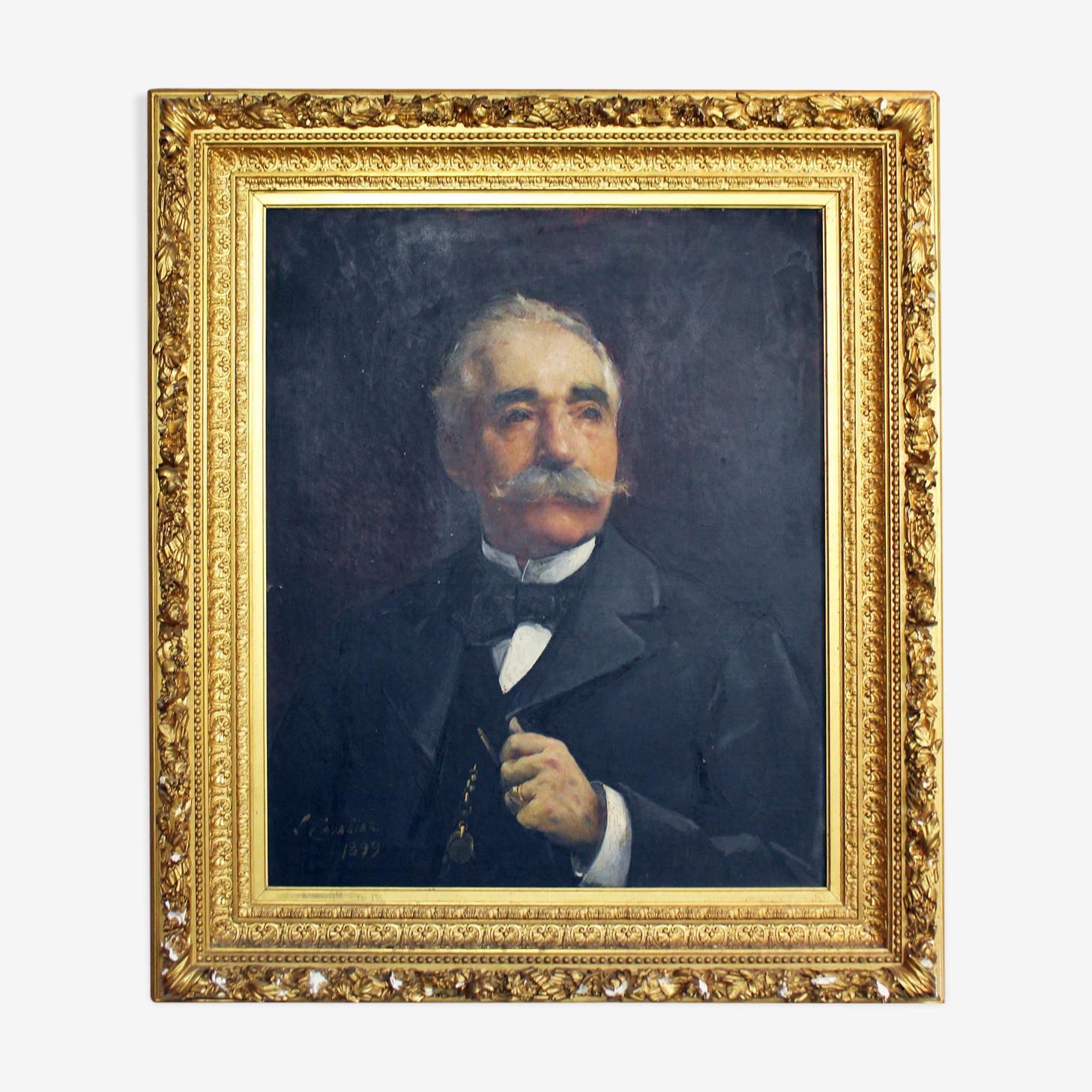 """Portrait de """"gentleman"""""""