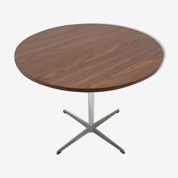 Table by Piet Hein, Arne Jacobsen and Bruno Mathsson Fritz Hansen edition