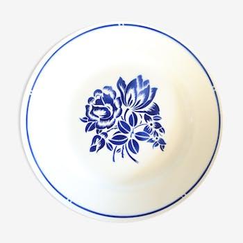 Badonviller 1930 round dish, French manufacture