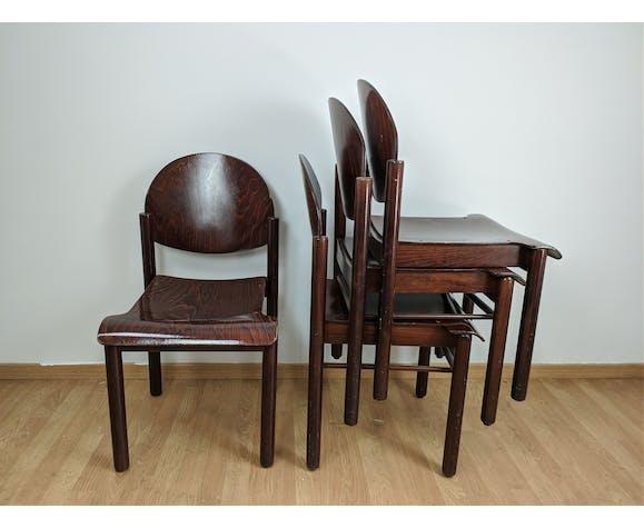 Lots de 4 chaises Baumann