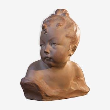 Jeune fille en bust XIXème siècle