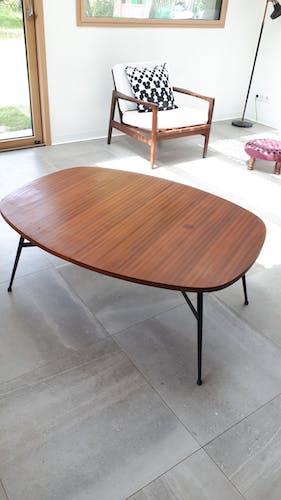 Table convertible smørrebrød années 50/60