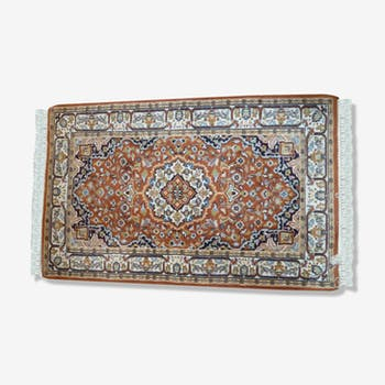 India Agra 78 x 130 cm hand made wool rug