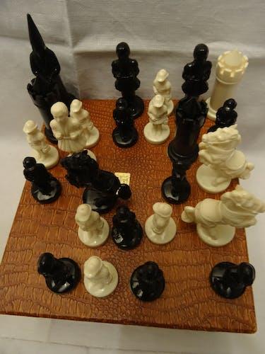 Jeu d'échecs vintage