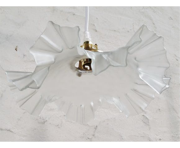 Frosted glass suspension