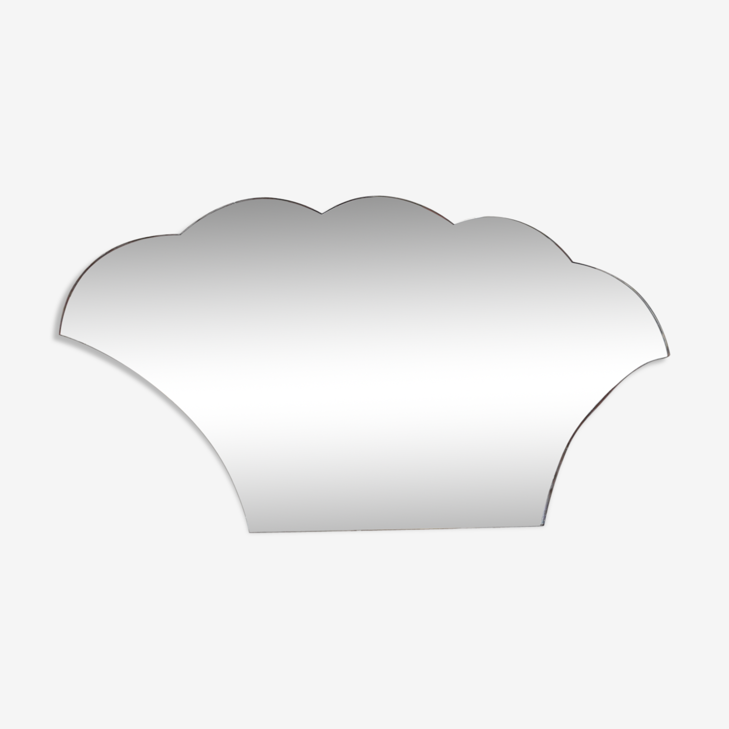 Mirror shape basket 60x33cm