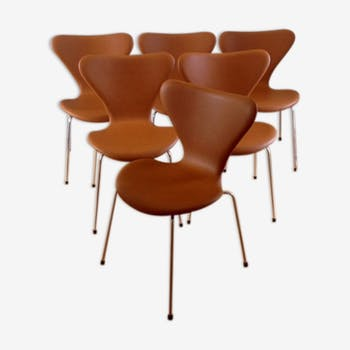 Set of 6 chairs Arne Jacobsen