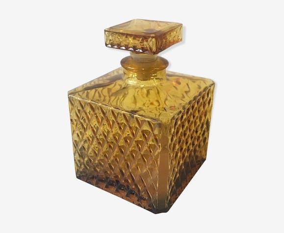 Carafe whisky en verre vintage