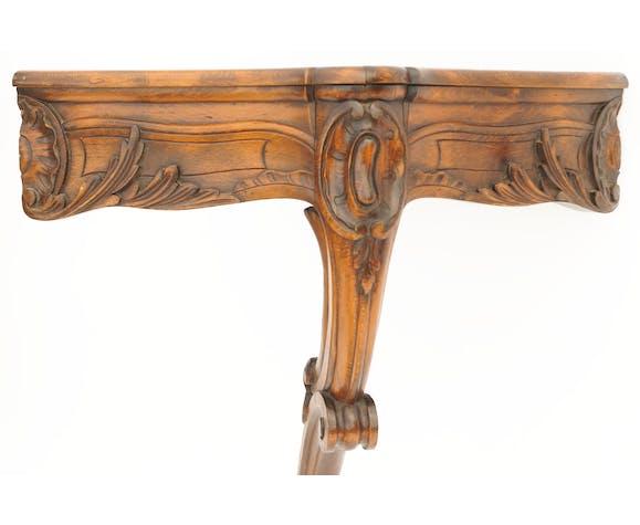 Jardinière d'angle encoignure de style Louis XV