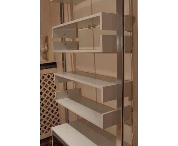 Bookshelf by Ligne Roset, 70's floor ceiling line