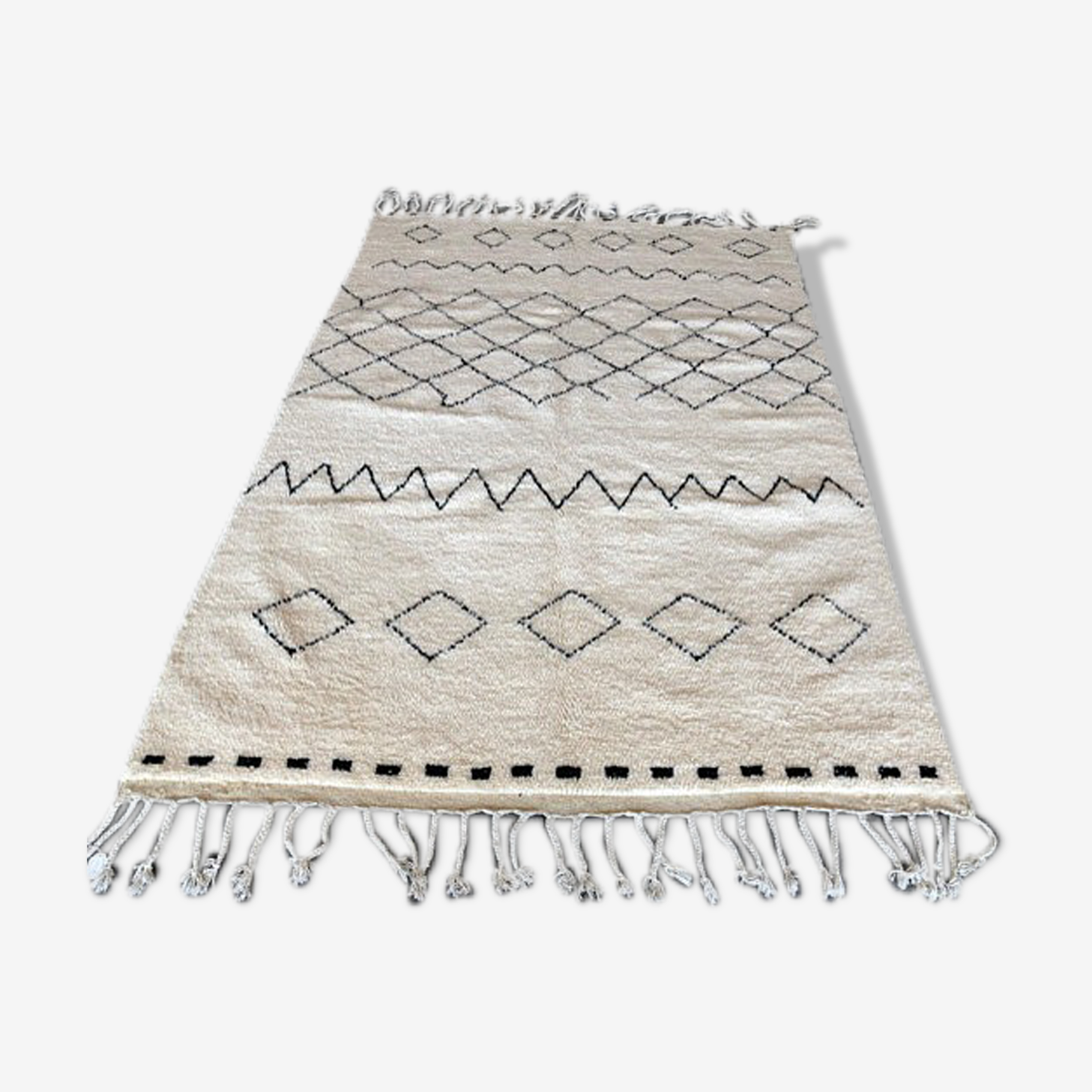 Tapis marocain beni ouarain 280x180 cm