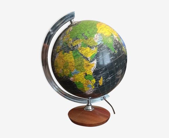 Globe terrestre 25cm Nova Rico vintage 80, lumineux