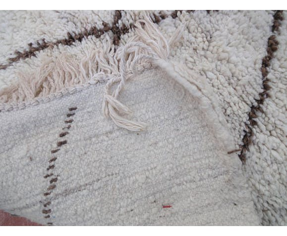 Carpet Beni Ouarain corridor 100% Wool 275 x 100