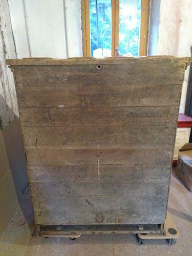 Glacière en bois et zinc XIXème