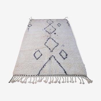 Carpet beni ourain 237 x 148 cm