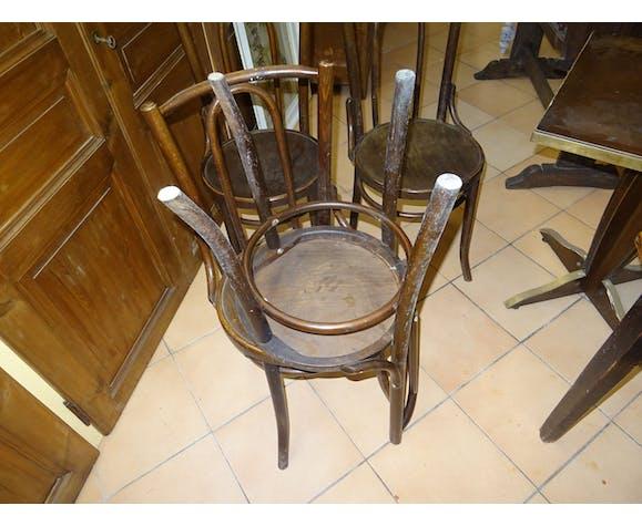4 chaises de bistrot