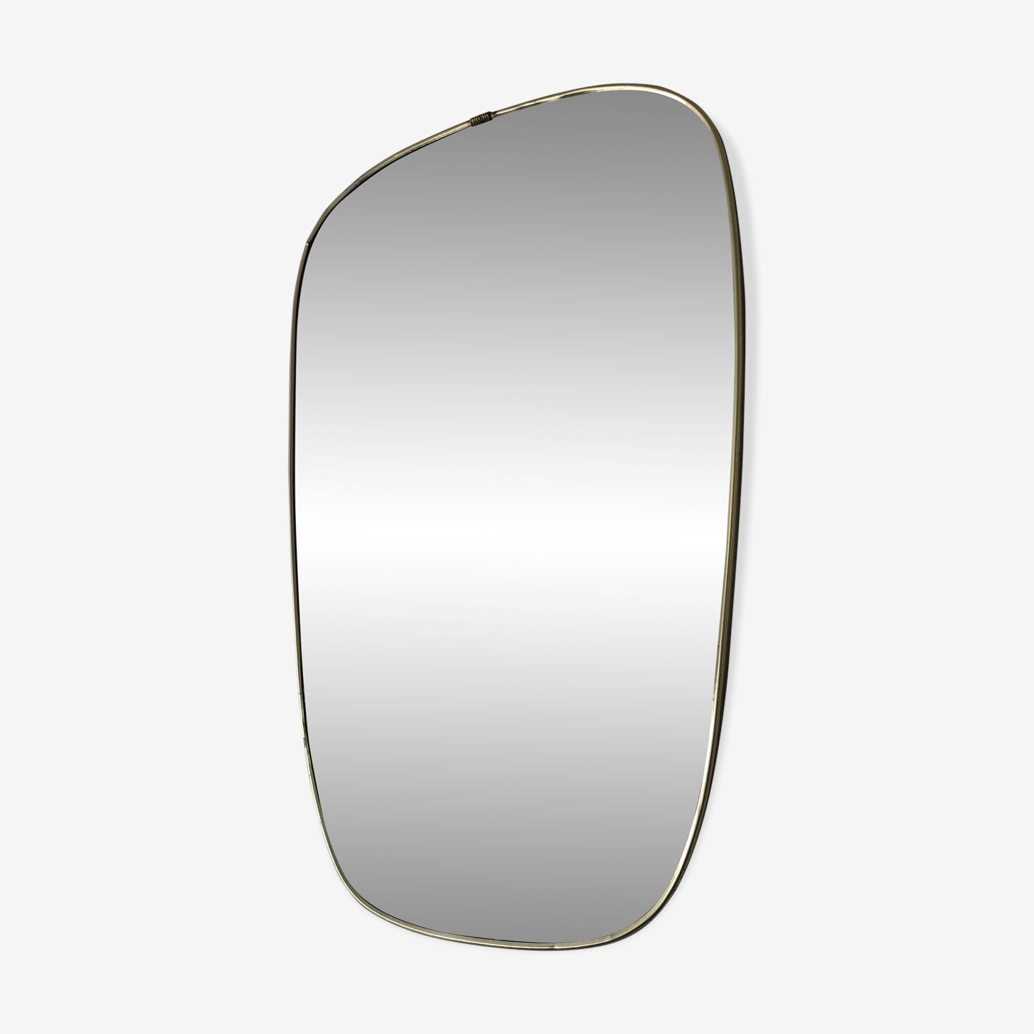 Miroir rétroviseur vintage 1960 - 39x26cm