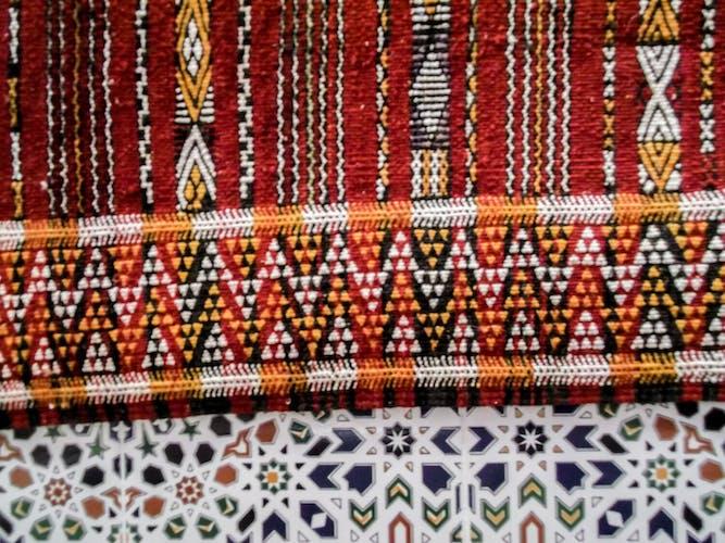 Carpet Moroccan kilim - 230 x 130 cm