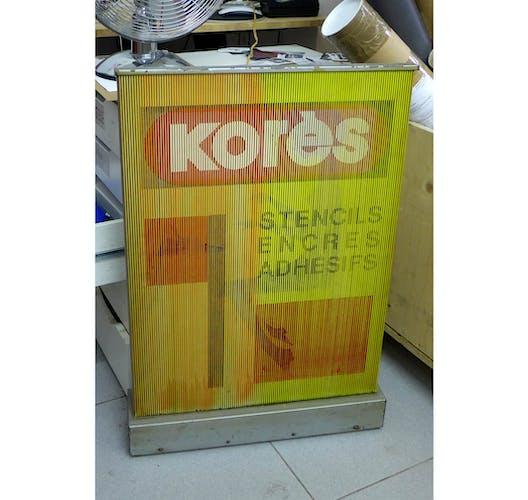 Panneau publicitaire électrique Korès