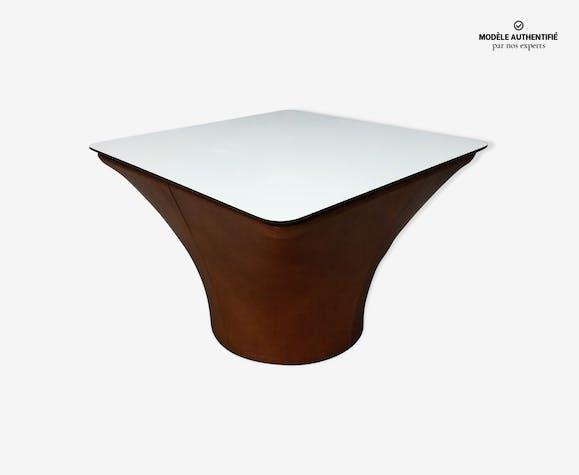 table basse mushroom de pierre paulin pour artifort ann es 60 ska beige design xvebnv2. Black Bedroom Furniture Sets. Home Design Ideas
